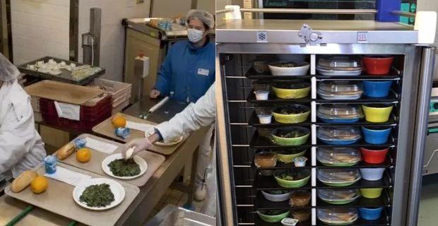 Distribuer les repas dans les hôpitaux